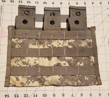 US Military Digi Camo Triple Magazine Pocket Pouch Molle II 30 Round