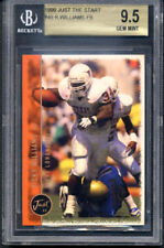 1999 Just Start Ricky Williams RC BGS 9.5 Gem Mint UT