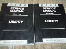 2005 Jeep Liberty Service Repair Shop Manual Set OEM 05 BOOKS HOW TO FIX HUGE