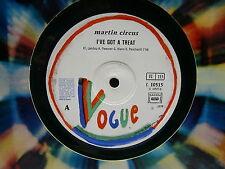 "MAXI 12"" MARTIN CIRCUS I've got a treat / shine baby shine C10515 Vinyle vert"