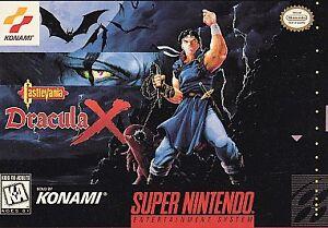 Castlevania: Dracula X (Super Nintendo Entertainment System, 1995) Authentic