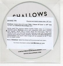 (HF769) Shallows, Pale / House Of Love - DJ CD