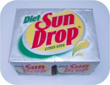 12 pack of DIET SUN DROP Cans cola pop drink SUNDROP Soda