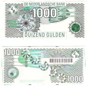Netherlands - 1000 Gulden 1997 VF P. 107 Lemberg-Zp