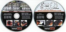 Metalcraft Tools 2 DVD set Demonstrations Benders Fabrication Bending 100 min