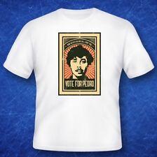 Napoleon Dynamite vote for Pedro cult tshirt classic tv film movie memorabilia
