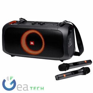 JBL PARTYBOX ON THE GO Speaker Bt Portatile Effetti Luce Altoparlante Porta USB