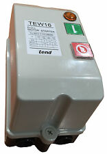 TEW21 ELECTRICAL TEND DOL MOTOR STARTER 3 HEATER RATED TO 15HP 19A - SETEW21