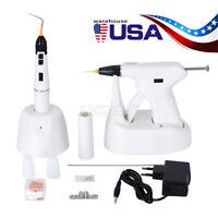 USA Dental Endodontic Gutta Percha Obturation System Gun + Pen + Needles + Tips