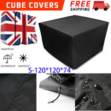 More details for heavy duty garden patio furniture cover table square cube outdoor covers uk