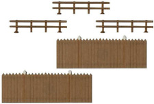 Busch 6015 Fencing Pk8 Panel / 6 Ranch Types HO Gauge