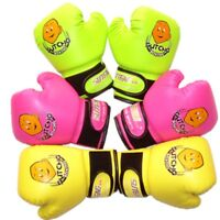 2-10Y Kids Punching Gloves Pink Boys Girls MMA Boxing Fighting Little Boy Boxers