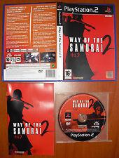 Way of the Samurai 2, CAPCOM, PlayStation 2 PS2 PStwo, Pal-España ¡¡COMO NUEVO!!
