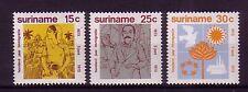 Suriname Michel numero 651 - 653 post freschi