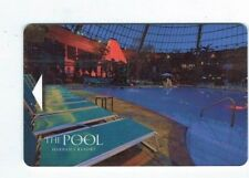 The POOL Room KEY Card at HARRAH'S Casino Hotel Atlantic City - After Dark #2