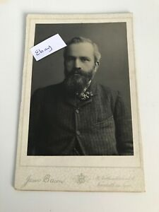 Cabinet Card James Bacon St Northumberland St Newcastle on Tyne Studio