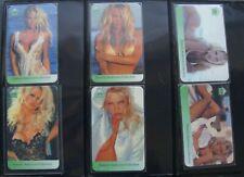 Telefonkarten Erotik Calling Card mint/**  6 Stück Pamela Anderson Collection