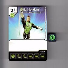 DICE MASTERS DC GREEN ARROW & FLASH COMMON CARD #20 HAL JORDAN GREEN W/DICE