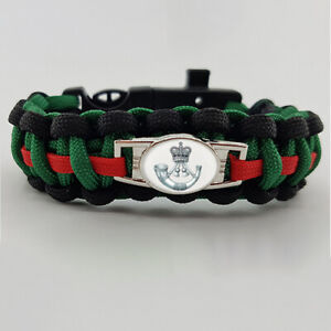 The Rifles Badged Survival Bracelet Tactical Edge Gift