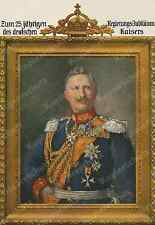 W. Pape Wilhelm II. Uniform IMPERIAL CROWN CREST ADEL 25. government-Jubilee 1913