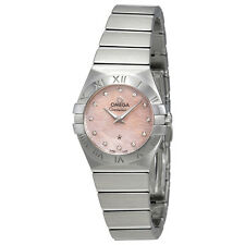 Omega Constellation Pink Mother of Pearl Dial Ladies Watch 123.10.24.60.57.002