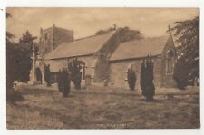 Somersby Church Lincolnshire pre 1918 Postcard 910b