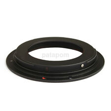 1Pc Black Aluminium alloy M42 Lens For All Canon EOS EF Mount Adapter Ring US