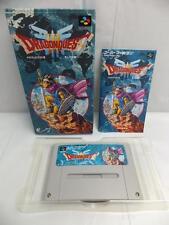 """SNES""""DRAGON QUEST III 3""""WARRIOR ENIX SUPER FAMICOM BOXED"""