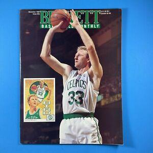 Beckett Basketball Card Monthly #28 November 1992 Larry Bird