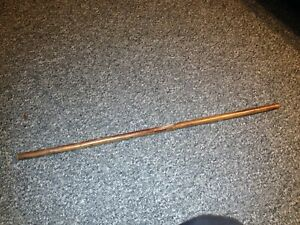A pig skin warrant officers army officers pace stick swagger stick