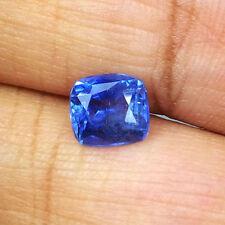 1.61cts Ravishing Natural Unheated Blue Sapphire Srilanka Loose Gemstone