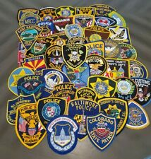 Large Lot of 45 Police Sheriff Law Enforcement Correction Patches Patch