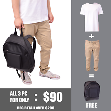 Nautica & Super Dry Men's Back-To-School Outfit + FREE Burton Backpack