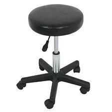 Adjustable Hydraulic Massage & Salon Spa Rolling Stool w 360 Degrees Swivel Seat