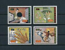 Burkina Faso  301-4  MNH, Interpol, 1973
