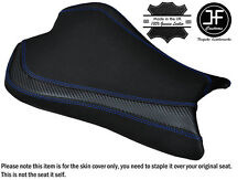 CARBON GRIP R BLUE DS ST CUSTOM FITS KAWASAKI ZX6R 636 09-15 FRONT SEAT COVER