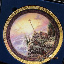 Thomas Kinkade Millennial Plate 2000 Sunrise Le 3486A Easter