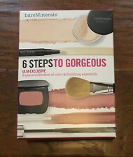 BareMinerals 6 Steps To Gorgeous Set Blush Mascara Minerals Veil Lip Gloss Nib