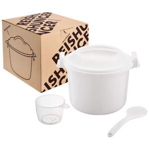 Reishunger Mikrowellen Reiskocher (1,2 L) für 4 Personen
