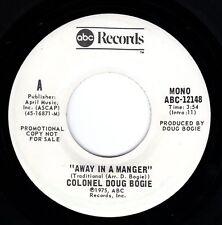 "Beatles (Ringo/Bogie) ""Away In A Manger"" 1976 US W/L Mono/Stereo Promo Single"