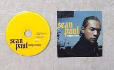 "CD AUDIO MUSIQUE / SEAN PAUL ""TEMPERATURE"" 2T CDS 2006 CARDSLEEVE HIP HOP"