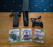 Xbox 360 E- model-1538 - 250 GB Hard Drive Inserted - complete with Games BUNDLE