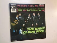 """DAVE CLARK FIVE: Please Tell Me Why +3-France 7"""" 66 Columbia ESRF 1795(M) EP PCV"""
