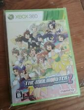 The Idolmaster 2 Xbox 360 sealed japanese copy, sold from USA. idolm@ster im@s
