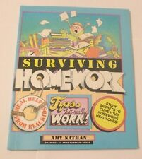 SURVIVING HOMEWORK - TIPS THAT REALLY WORK   BRAND NEW!!!