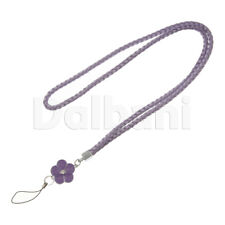 Multifunctional Lanyard Large Purple Flower for Android Devices