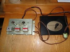 New listing Baldwin Tube 12Ax7 Panaramic Tone Converter Amplifier Model A with Control Box