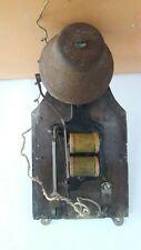 Campanello elettrico campana d'epoca in ottone XX Secolo