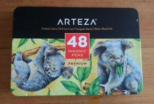 Arteza Inkonic Fineliner Pens - Set of 48