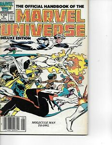 The Official Handbook of the Marvel Universe   vol 2  #9